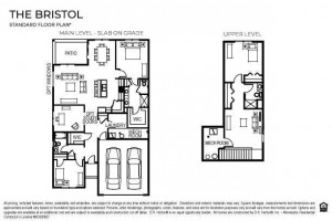 Welcome to the Bristol floor plan! *This home will feature 3 bedrooms on the main and a 3 car garage