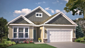 One level living with loads of curb appeal! The Bristol Northern Craftsman exterior includes adorable stone accents across the front of the home plus board and batten for some extra charm! This home will feature a 3 car garage! *Colors will vary