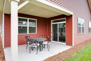 All of that inside the home PLUS a covered outside entertainment space! *Photo of previous model home