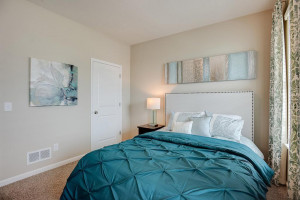 The additional bedroom at the front of the home provides ample space for nearly any arrangement of furniture! *Photo of previous model, selections will vary.