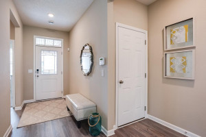First impressions matter! Leave a lasting one with this introduction to your new home just inside the front door! *Photo of previous model, selections will vary.
