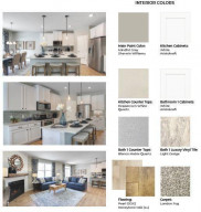Carefully compiled by DR Horton's team of professional interior designers, these are the color selections we'll be installing in your new home!!