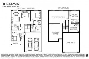 An overview of the home's living spaces, which includes a fully finished lower level!!!