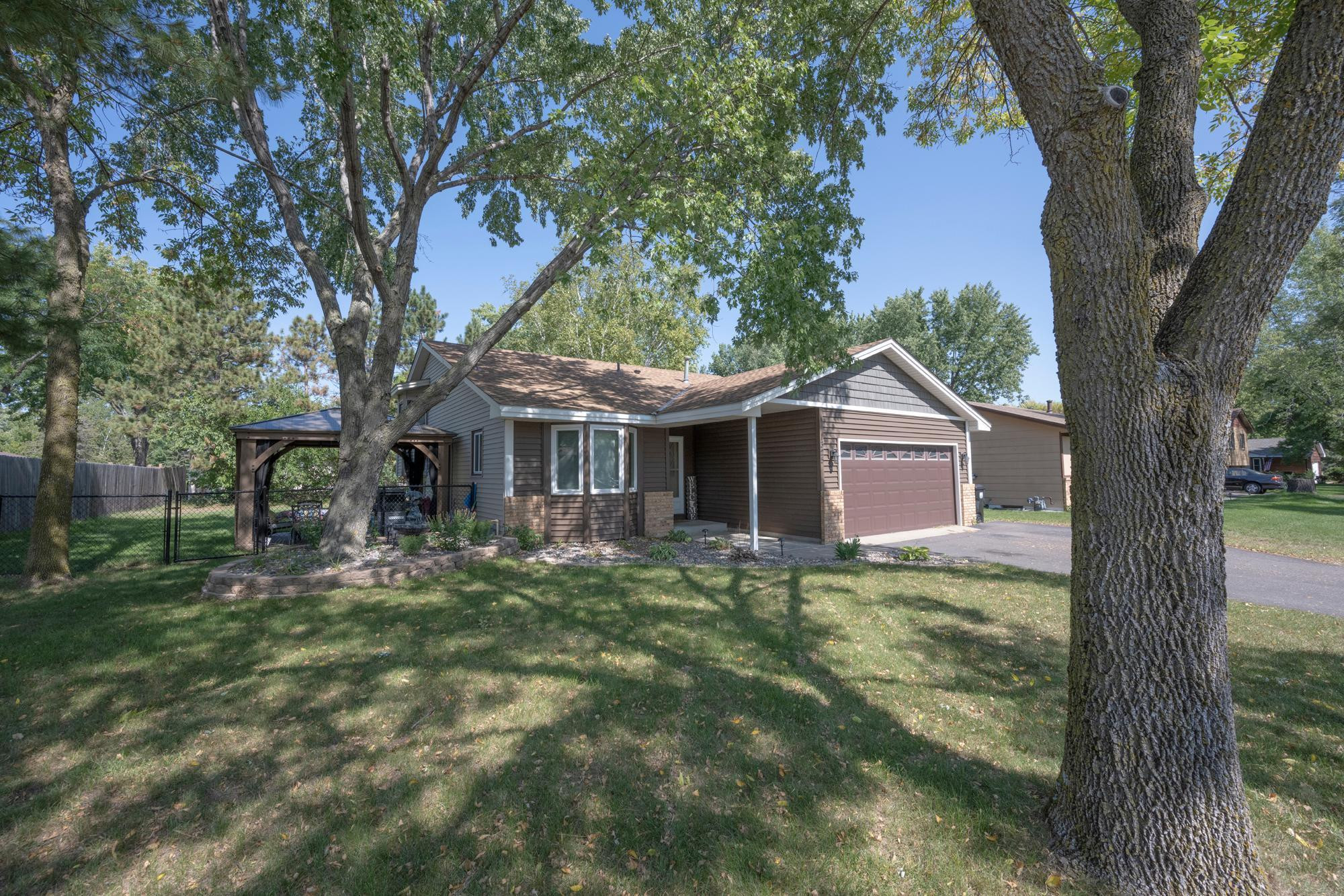 Welcome home to this lovely 3 level home with 3 BR's, 2 BA, and 2 car attached garage.