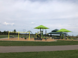 Flint Hills Athletic Complex is located right across the street! With soccer fields, a picnic pavilion, and playground there is plenty to keep kids busy!