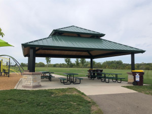Flint Hills Athletic Complex is located right across the street! With soccer fields, a picnic pavilion, and playground there is plenty to keep family busy!