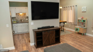 A Perfect Spot for your TV in the Family Room!