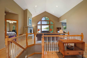 Well-designed, the home enjoys an open floor plan that take full advantage of the amazing views.