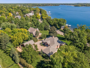 Perched on .87 acres, this home enjoys a beautiful estate setting.