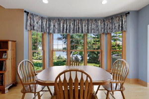 Enjoy gathering in the informal dining room for weekday breakfasts or homecooked meals.