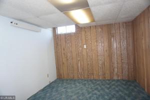 Basement could be a bedroom needs an egress
