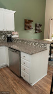 Granite Breakfast Bar and Stainless Steel Dish Washer