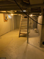 Partial basement with new propane furnace and water heater