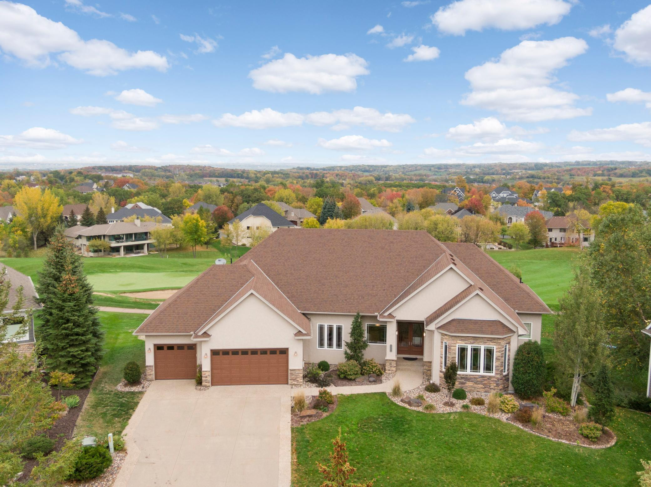 Welcome to 14731 Timberwolf Trail NW located on the 9th hole of the Wilds Golf Course.