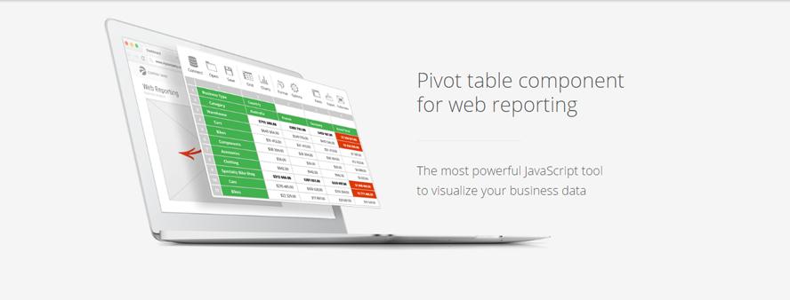 Flexmonster Pivot table component