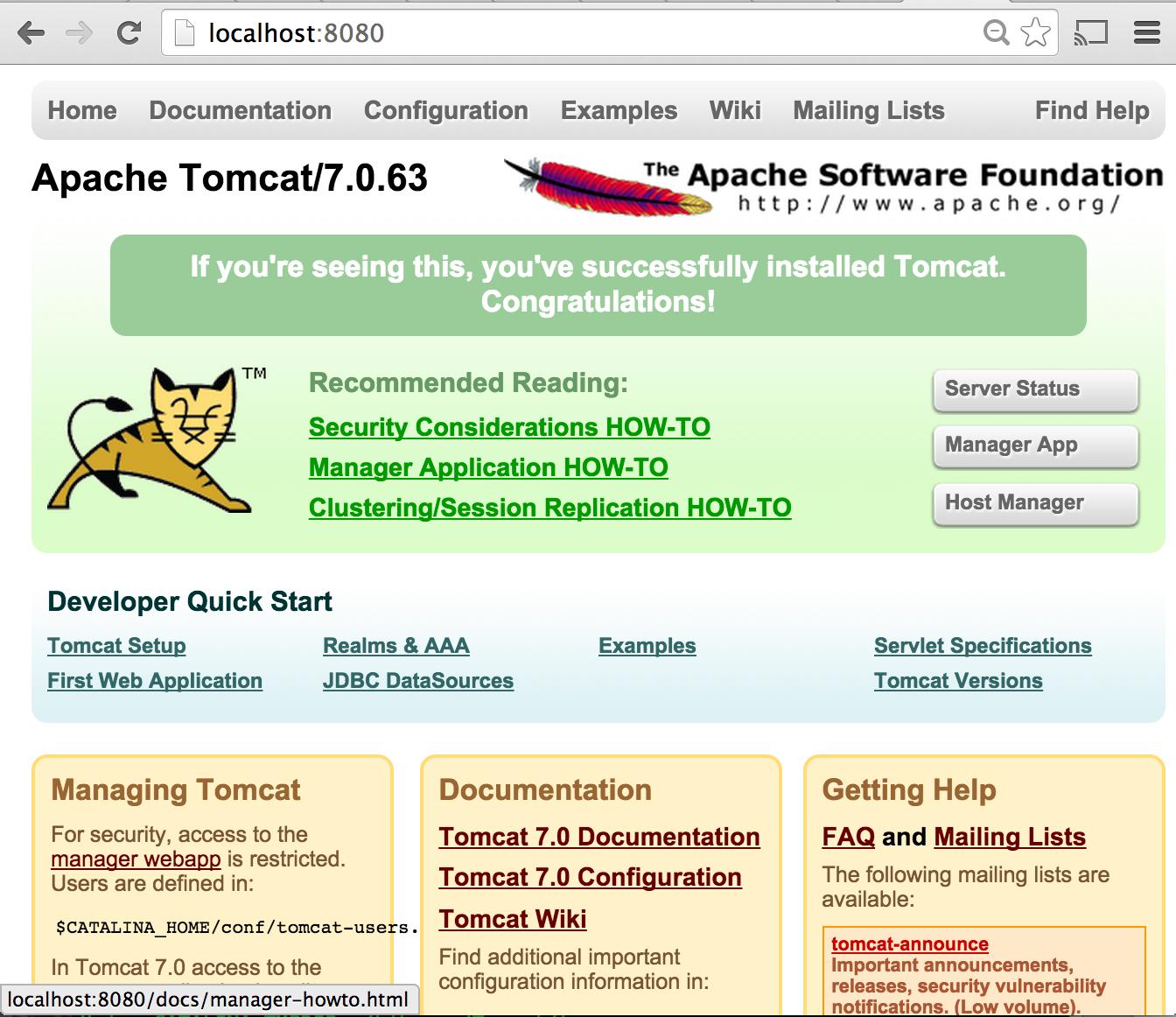 Become a java ee developer part i tomcat setup and my first become a java ee developer part i tomcat setup and my first servlet baditri Images