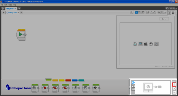 FLLCasts | Load and start program from the EV3-G software