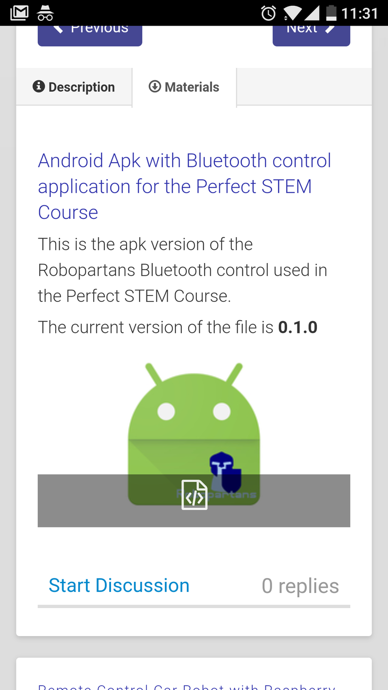 FLLCasts | Install Robopartans Bluetooth Control application on an