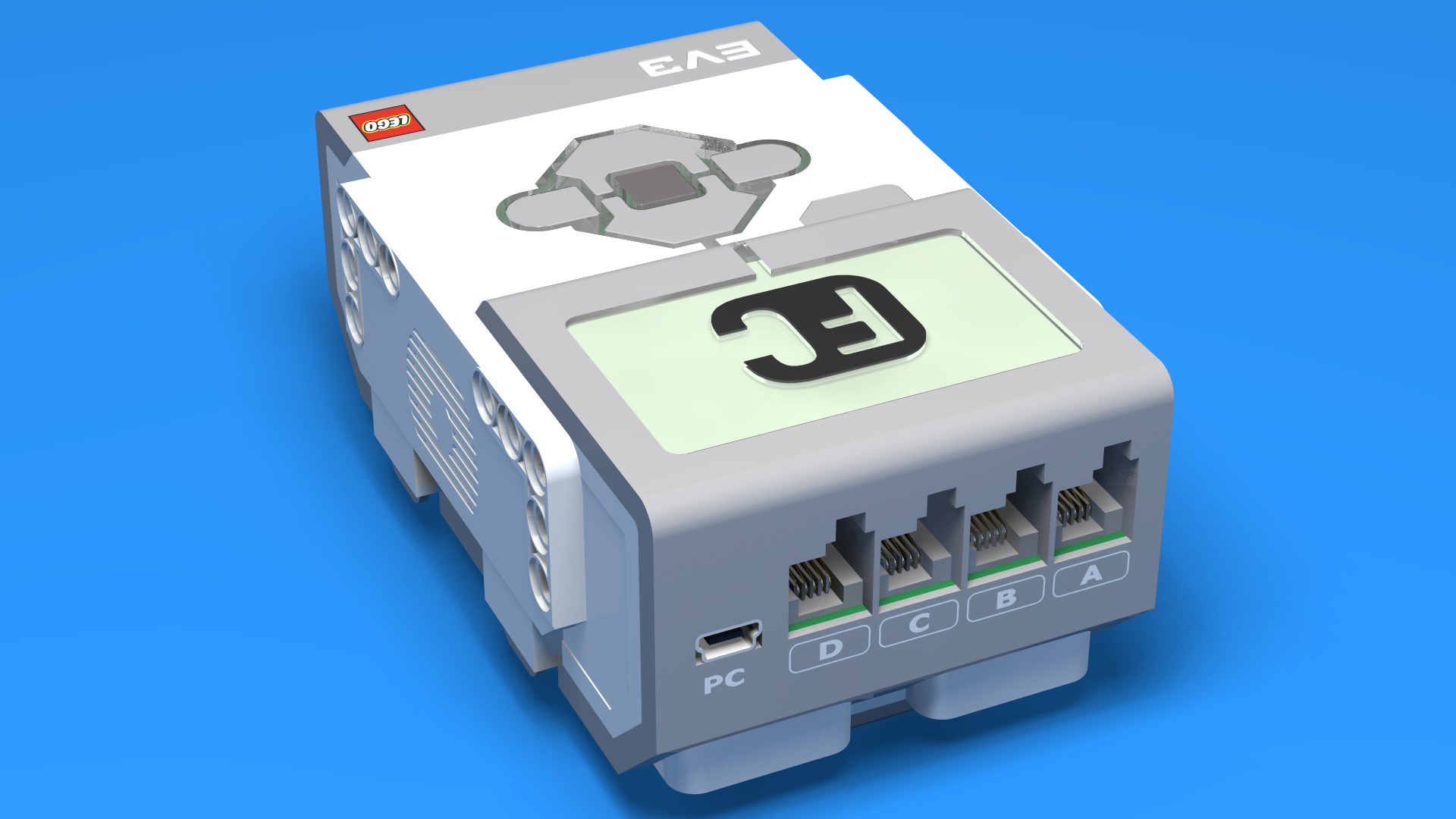 FLLCasts   Introduction to EV3 Controller - the LEGO