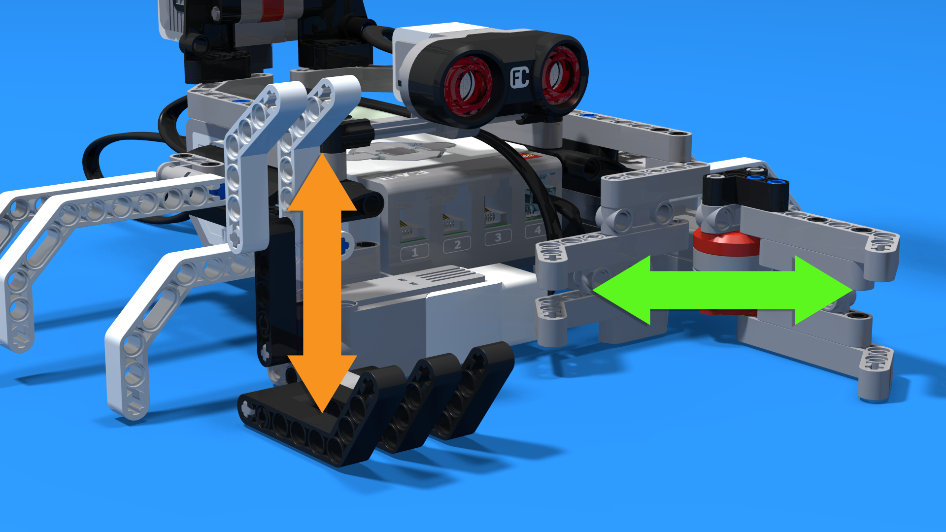 LEGO-Mindstorms-Ev3-Scorpion-Claws-With-Arrows-Fllcasts
