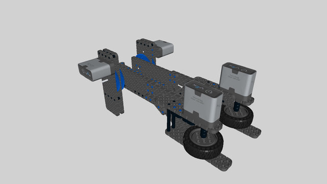Image for Cube Collector Attachment for VEX Robot Base 5