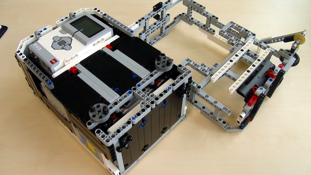 Image for Attachments for Box Robot for Robotics Competitions. Active Attachment for the Right side of the Robot