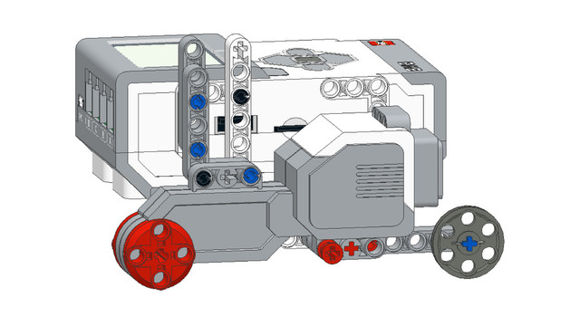 Image for EV3 Phi. Teacher's Note. Be careful while the students are following PDF instructions to build a LEGO robot