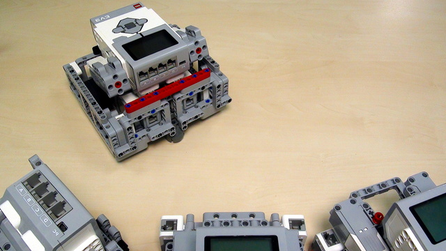 Image for Robot Design Ideas for Chassis with Mindstorms EV3. Base Chassis 5