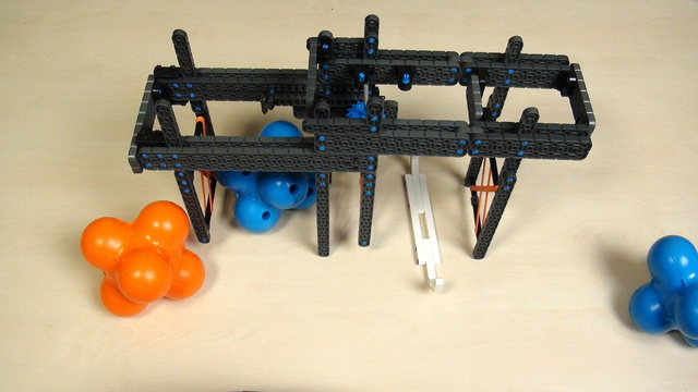 Image for VEX IQ Crossover. Teacher Note. Extending to a triple attachment