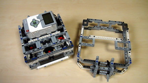 Image for Box Robot Two. Frame for pinless attachments