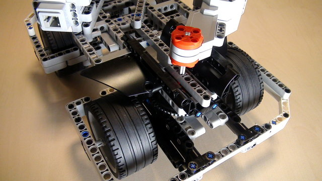 Image for Two rear motors on BigDaddy Competition Construction Robot (Part 10)