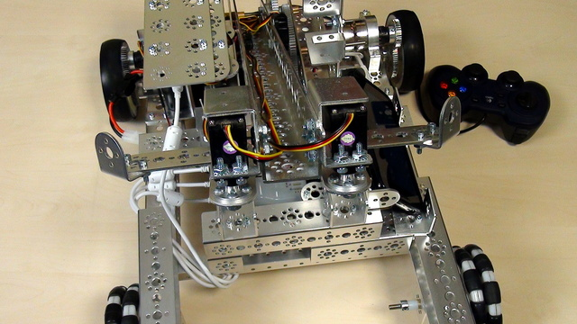 Image for Hand control with simple Calm Op Mode for the FTC Tetrix Push Bot Robot Arm