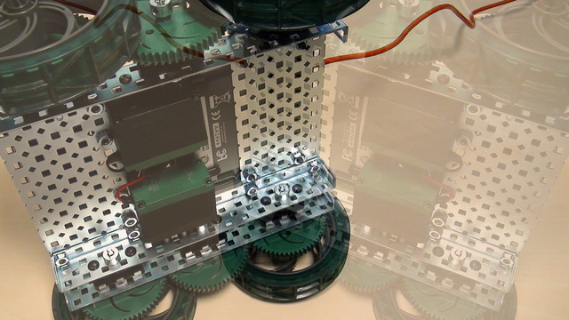 Image for VEX EDR Intro. Move forward and backward with the VEX motors