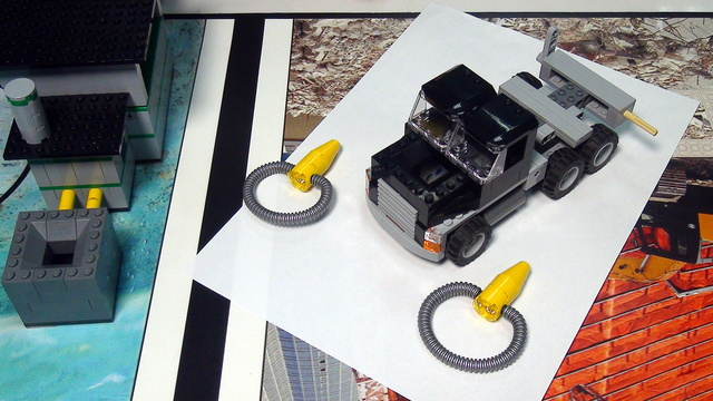 Image for Methane Loops and Truck. FIRST LEGO League Trash Trek 2015