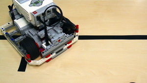 Image for Proportional Line Following with LEGO Mindstorms EV3