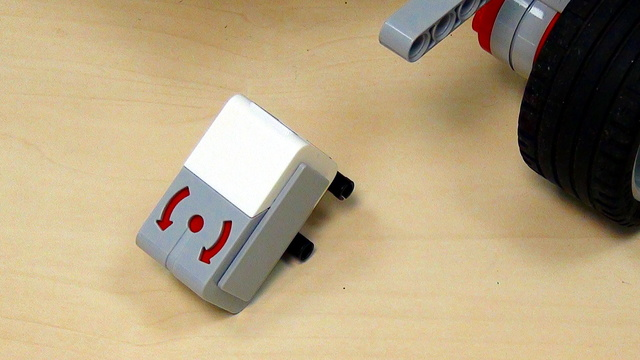 Image for EV3 basics course. Gyro Sensor. Tasks (part 5)