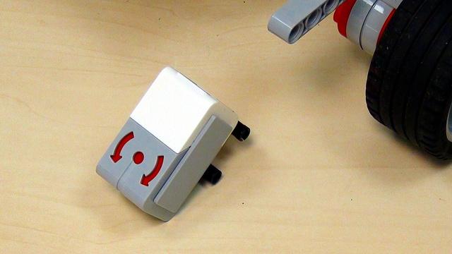 Image for EV3 basics course. Gyro Sensor. Tasks (part 5)