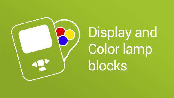 Image for Display Block & Color Lamp Block
