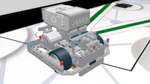 Image for How to build an EV3 LEGO Mindstorms Competition Robot Construction