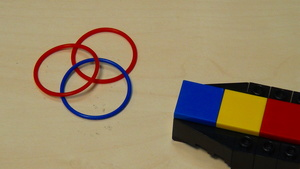Image for Rubber band LEGO attachment without motors