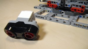 Image for EV3-G programs form running the catapult with ultrasonic sensor