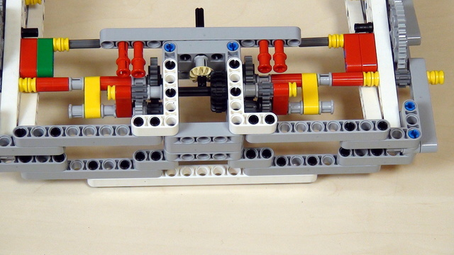 Image for Improving FLL Robot Game. Task for extending axles.