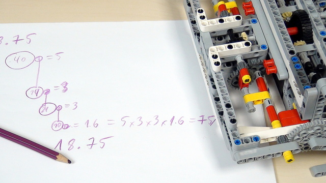 Image for Improving FLL Robot Game. Task. Calculate rotations