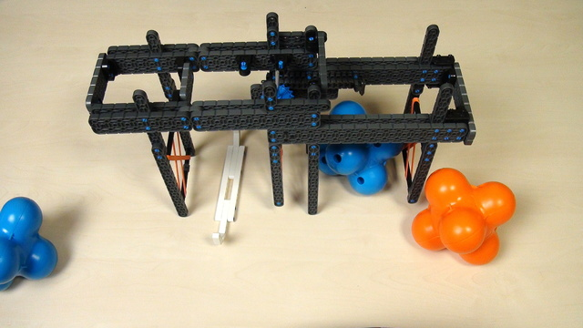 Image for VEX IQ Crossover. Task. Extend the double attachment to a triple attachment