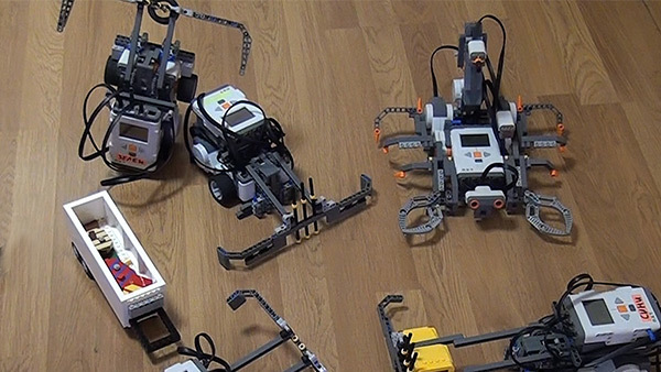 Image for Harlem Shake with LEGO Mindstorms Robots