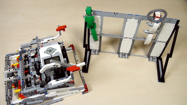Image for Improving FLL Robot Game. Places you could lift your robot onto.