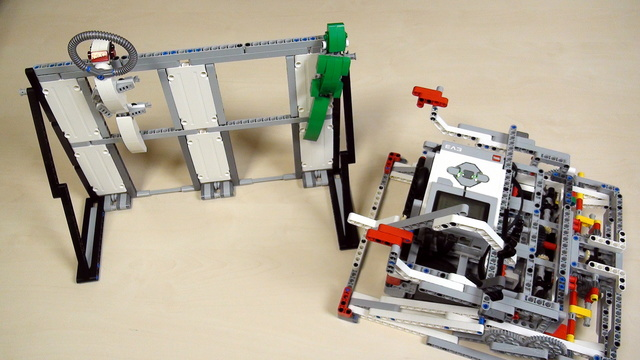 Image for Improving FLL Robot Game. Teacher Note. Places you could lift your robot onto.