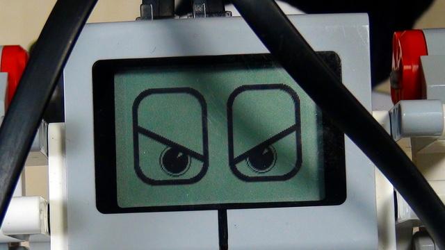 Image for EV3 Phi. Task for implementing the greet a stranger module