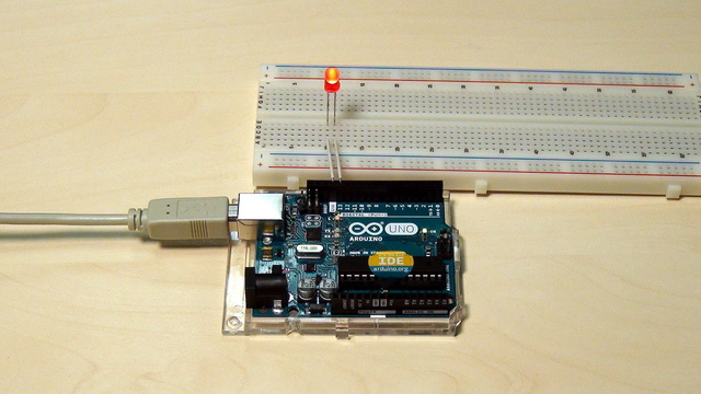 Image for Arduino Basic Course. Modify the blinking diode program