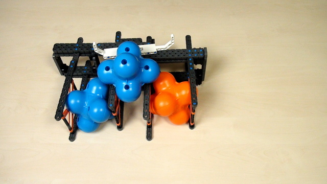 Image for VEX IQ Crossover. Task. Build the single attachment following the instructions